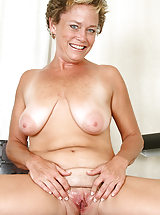 hot pussy, At 42 years old playful MILF Ariel from AllOver30 reveals all